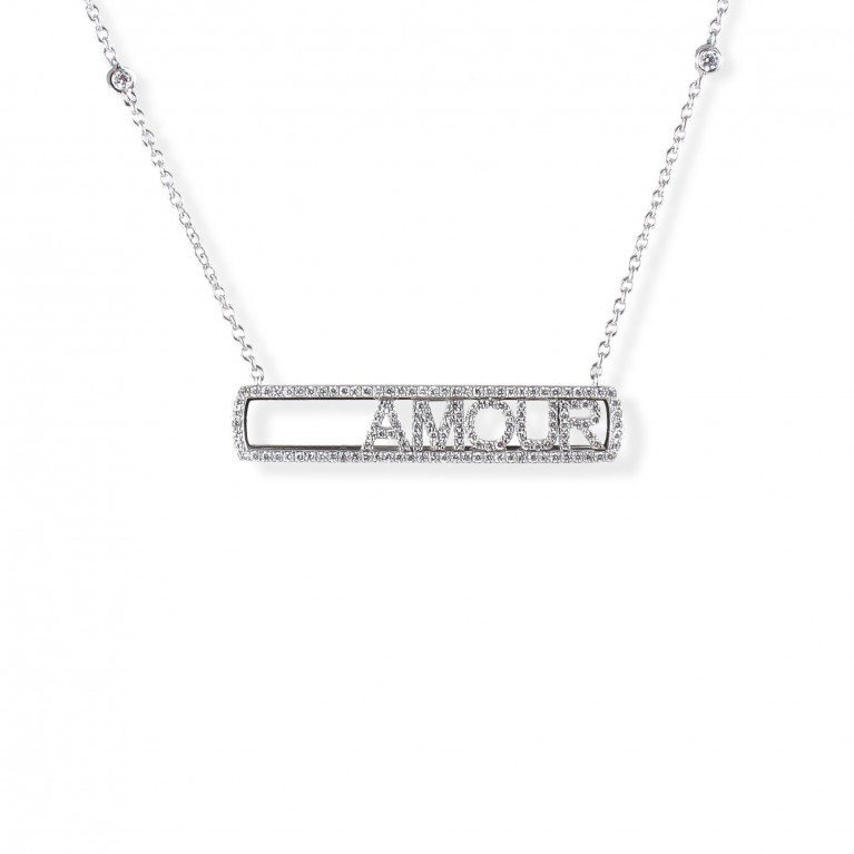 COLLIER SLIDE AMOUR