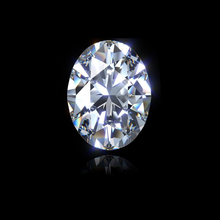 DIAMANT OVALE 1.01 Ct