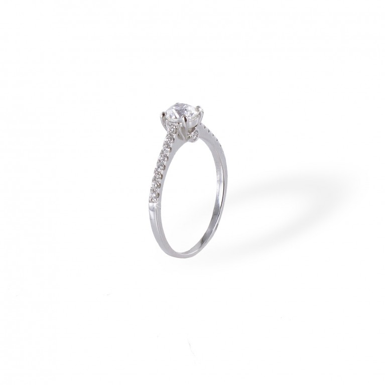 BAGUE SOLITAIRE STEPHANIE
