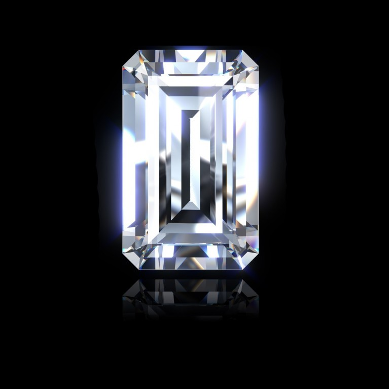 DIAMANT EMERAUDE 1.50 Ct