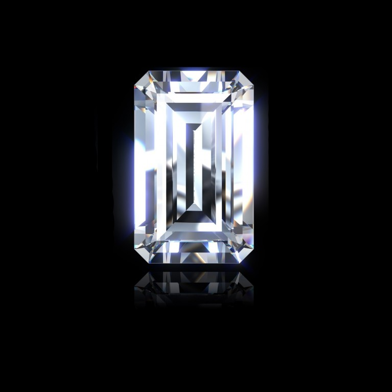 DIAMANT EMERAUDE 1.01 Ct