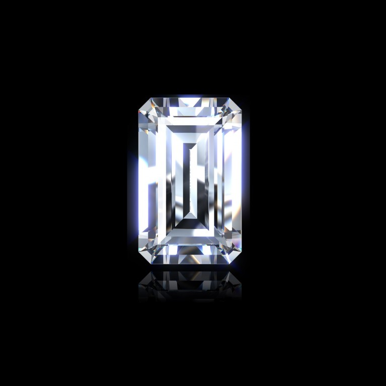 DIAMANT EMERAUDE 0,50 Ct