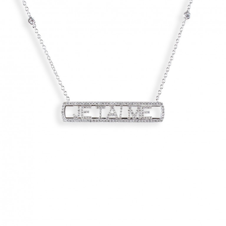 COLLIER SLIDE JE T'AIME