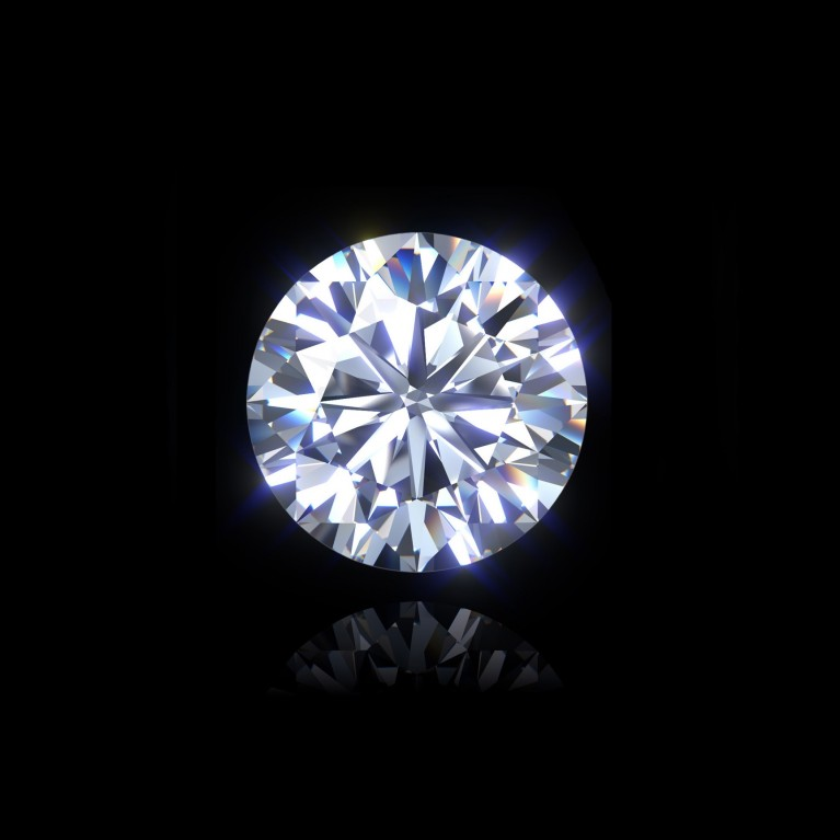 DIAMANT BRILLANT 1.00 Ct