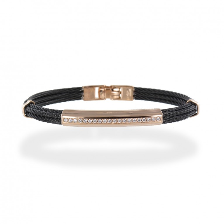BRACELETS LOS ANGELES PINK GOLD