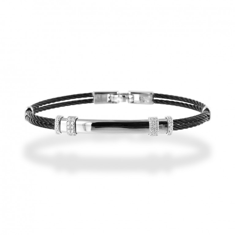 BRACELETS MIAMI WHITE GOLD